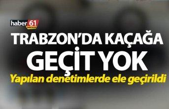 Trabzon'da kaçağa geçit yok - Yapılan denetimlerde...