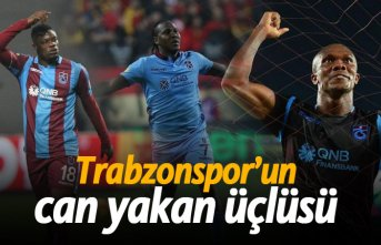 Trabzonspor'un can yakan üçlüsü