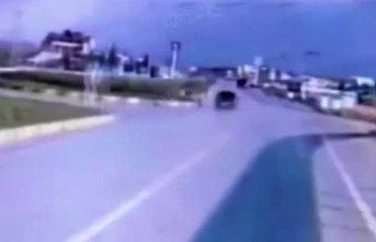 Üç komandonun hayatını kaybettiği kaza kamerada