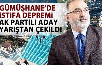 Gümüşhane'de flaş gelişme! AK Parti Belediye başkan adayı adaylıktan çekildi!