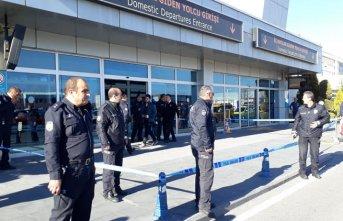 Kayseri Havaalanı'nda silah sesleri!
