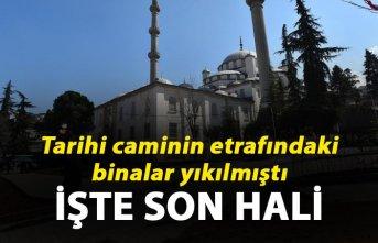 Trabzon'daki cami çevresine düzenleme
