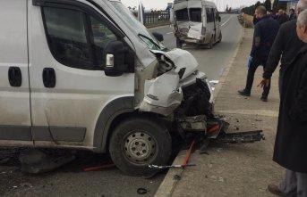 Trabzon'da kaza! Şoförün gözü kararınca…