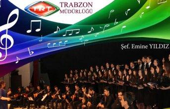 Trabzon'da TRT'den Radyo Sanatçıları Konseri