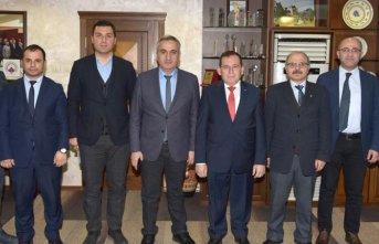 Trabzon Trabzon Üniversitesi UZEM'den TTSO'ya...