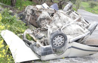 Kahramanmaraş'ta feci kaza: 1 ölü 3 yaralı