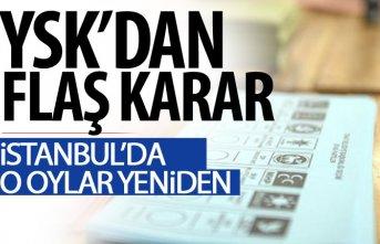 Son Dakika! İstanbul'da geçersiz oylar yeniden...