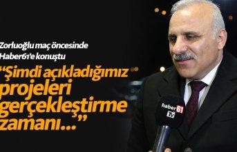 Murat Zorluoğlu: Trabzonspor'a güveniyorum