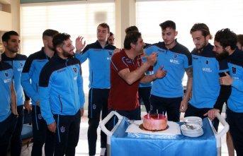Trabzonspor' da Uğurcan Çakır'a doğum günü...