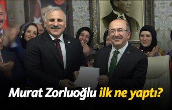 Murat Zorluoğlu ilk ne yaptı?