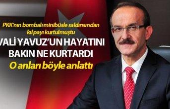 PKK'nın bombalı minibüsle saldırısından...