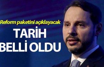 Bakan Albayrak reform paketini açıklayacak