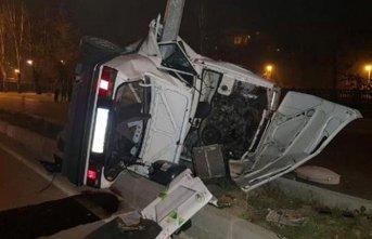 Nişan dönüşü feci kaza: 2 ölü
