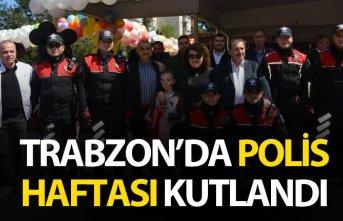 Trabzon'da Polis haftası kutlandı