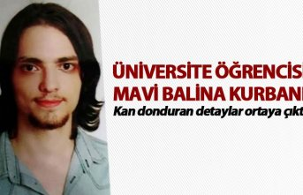 Üniversite öğrencisi Mavi Balina kurbanı... Kan...