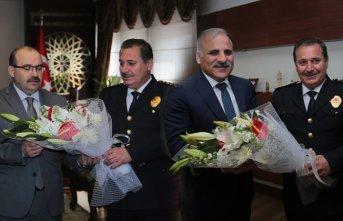Emniyet Teşkilatı'ndan Vali Ustaoğlu ve Başkan...