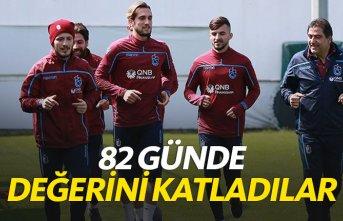 Trabzonspor'un gençleri değerlendi