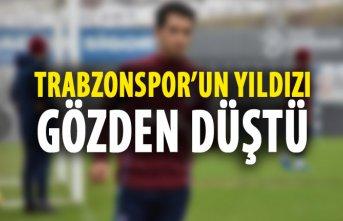 Trabzonspor'un yıldızı gözden düştü