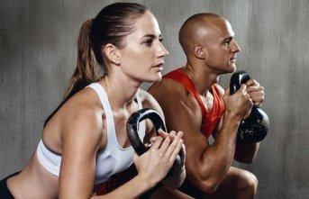 Vücut geliştirme ve fitness sporuna kadınların...