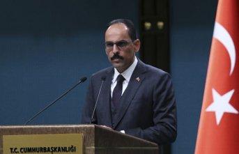 """İbrahim Kalın: """"Sözde soykırım kararı tarihi..."""