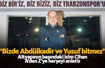 Trabzonspor'da altyapının başındaki isim...