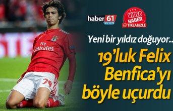 19'luk Felix, Benfica'yı uçurdu!