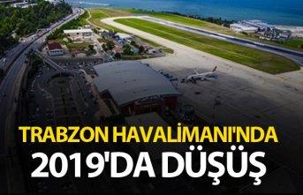 Trabzon Havalimanı'nda 2019'da düşüş