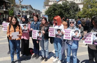 Malatya'da kadınlar Giresunlu Rabia Naz için...