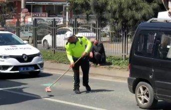Trabzon'da polisin çabası takdir topladı