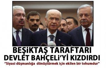 Devlet Bahçeli'den Beşiktaş taraftarına tepki:...