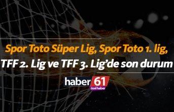 Spor Toto Süper Lig, Spor Toto 1. Lig, TFF 2. Lig...
