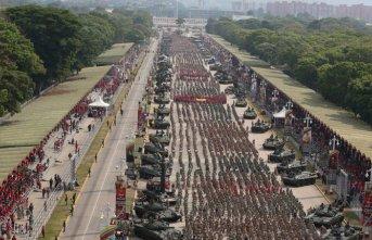Venezuella'da milis gücü sayısı arttı