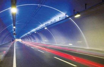 Akyazı tünelinde çalışma - Kontrollü olarak...