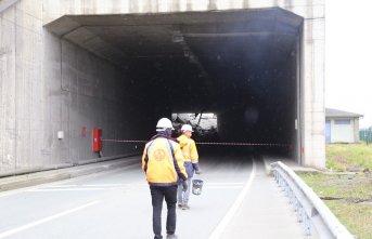 Göçük nedeniyle kapanan tünel için ihale