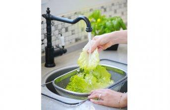 Sebze ve meyveleri sirkeli suda yıkamaya dikkat