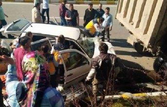 Giresun'da trafik kazası meydana geldi!