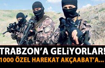 Özel Harekat Trabzon'a geliyor