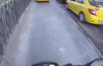 İstanbul'un göbeğinde yol verme kavgası!
