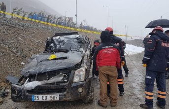 Rize'de trafik kazası: 1 ölü