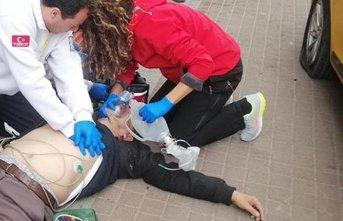 Direksiyon başında kalp krizi geçirince...