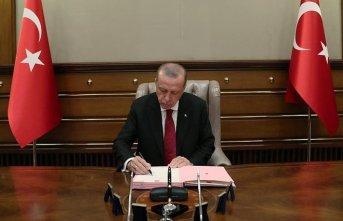 Erdoğan'dan 9 üniversiteye rektör ataması