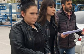 Markete girip hırsızlık yapan genç kız yakalandı!