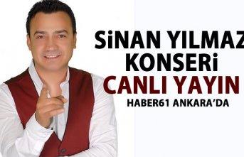 Sinan Yılmaz konseri - CANLI