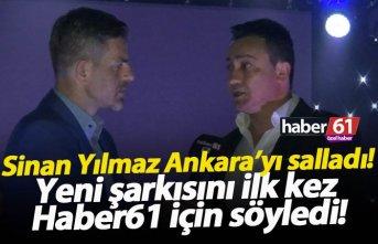 Sinan Yılmaz yeni şarkısını ilk kez Haber61 için...