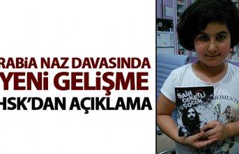 HSK'dan 'Rabia Naz Vatan' açıklaması