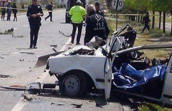 Muğla'da trafik kazası: 1 ölü 2 yaralı