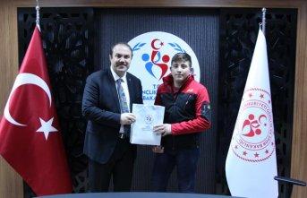 Ordu'nun gururu Ahmet Eremekter!