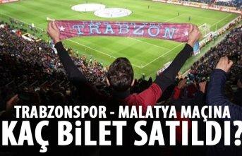 Trabzonspor - Malatyaspor maçı için kaç bilet...