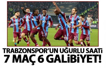 Trabzonspor'un uğurlu saati!