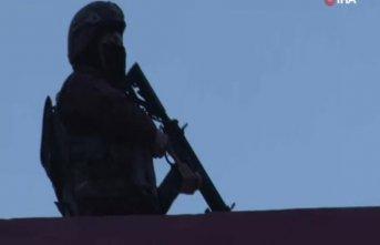 600 polisle torbacılara operasyon